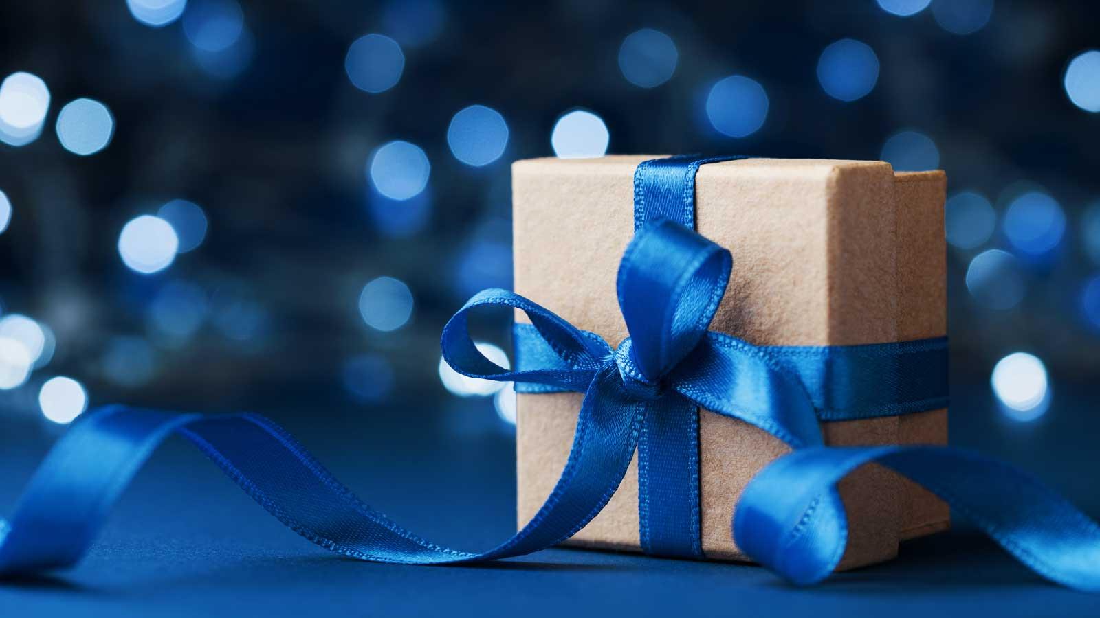 Blue tech present